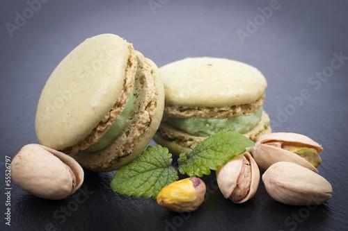 Macarons, Pistazien