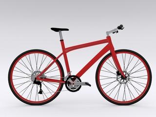 Seitenansicht Fahrrad
