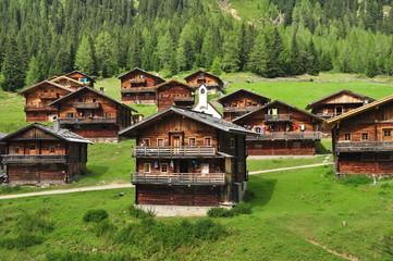 Oberstaller Alm Villgratental Osttirol