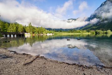 Lake Bohinj, Julian Alps, Slovenia