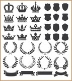 Fototapety Wreaths and crowns