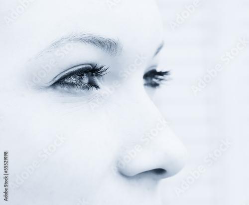 canvas print picture Blick nach vorn