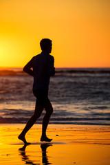 jogger on beach 4