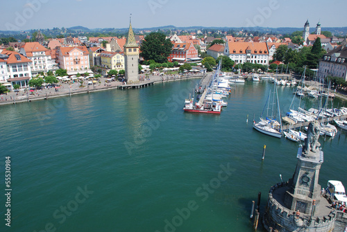 canvas print picture Lindau am Bodensee Bayern