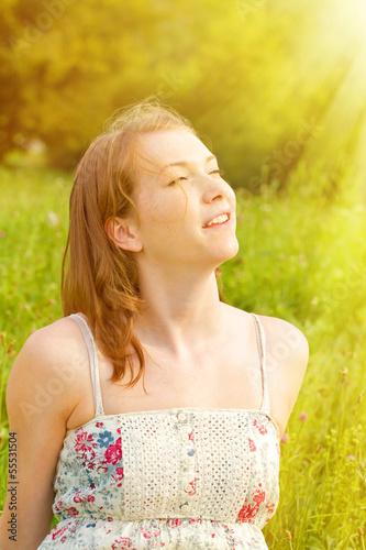Sommertag in der Natur