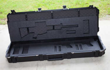 Empty AR-15 case