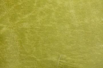 黄緑の本革