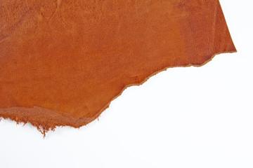 皮革 革 革製品 天然皮革 オレンジ 切れ端