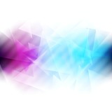 Colourful iridescent vector background