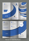 ri-Fold Corporate Business Store Brochure Design