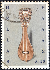 Cretan lyre (Greece 1966)
