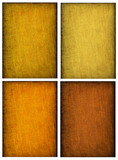 Collage of textured backgrounds in warm earthy colors