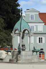 Kempten St. Mang Brunnen