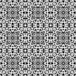 White lace texture on black, seamless pattern