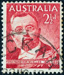 Botanist Sir Ferdinand von Mueller (Australia 1948)