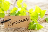 Label With Gracias