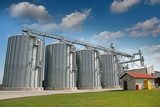 Agricultural Silo - Building Exterior poster