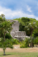 Oratory Temple of Mayan Ruins