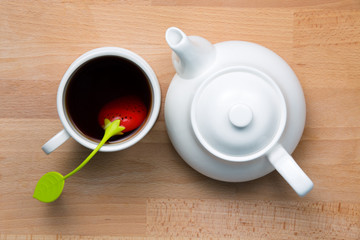 Infused Tea and Teapot