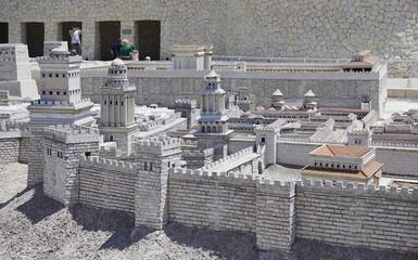 Maquette de Jérusalem au temps de Jésus Christ