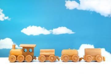 蒸気機関車のおもちゃ