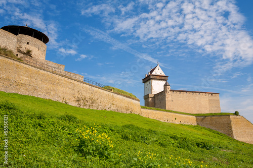 Old Fortress. Narva, Estonia