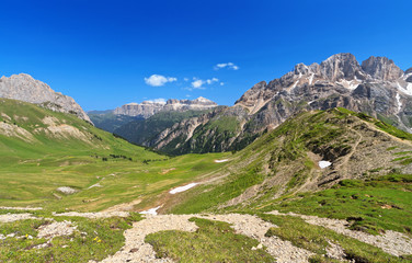 Dolomiti - panorama from Contrin valley