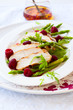 chicken and raspberry salad