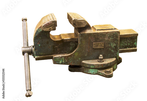 vise isolated