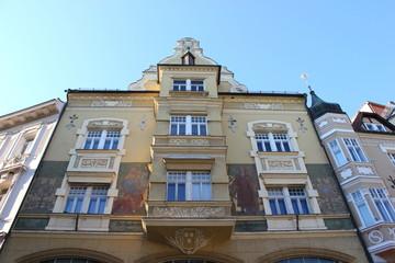 Das alte Rathaus von Klagenfurt am Wörthersee am Alten Platz