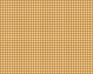 Tischdeckenmuster mit braunen Karos