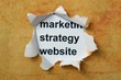 Marketing strategy website