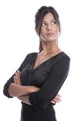Business Woman - Attraktive junge Geschäftsfrau isoliert