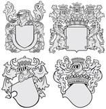 set of aristocratic emblems No11