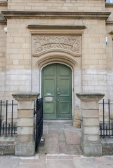 victorian warrant office entrance