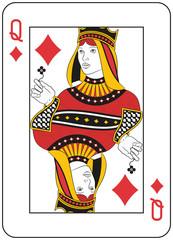 Queen of Diamonds. Original design