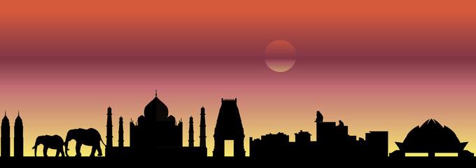India skyline