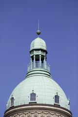 Turm mit Aussichtsplattform und Kanzel