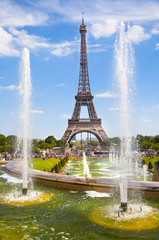 view of Tour Eiffel in Trocadero