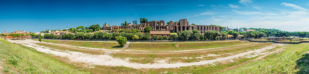 Roma, view of circo massimo