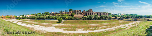 Roma, view of circo massimo