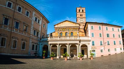 Roma, Basilica Santa Maria in trastevere