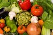 mix vegetables background