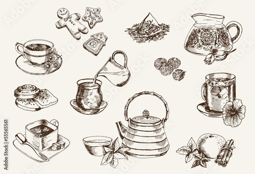 Some types of tea