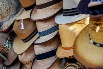 présentation de chapeaux et panamas 2