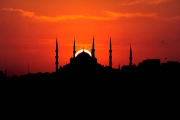 Golden Ring of Blue Mosque-Sultanahmet altin yüzük-Istanbul