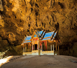 Royal pavilion in the cave, Thailand