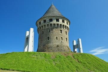 Detalle Torre de la Motte-Tanguy (siglo XVI)