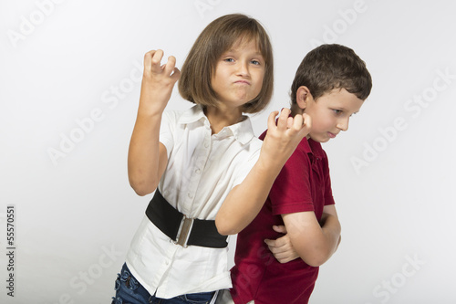 Kids are fighting