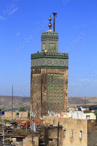 Papiers peints Maroc Madrasa Bou Inania
